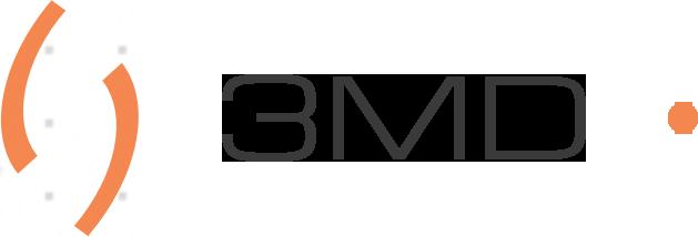 3MD web design logo black